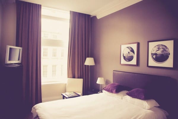 Image result for plum color curtains